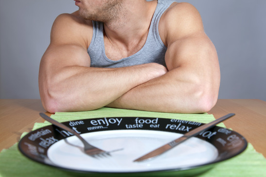 Mistakes when dieting - not eating enough