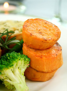 sweet potatoes are a healthy carb